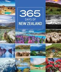 365 Days in New Zealand 2018 Deluxe Wall Calendar