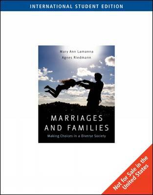 Marriages and Families by Mary Ann Lamanna image