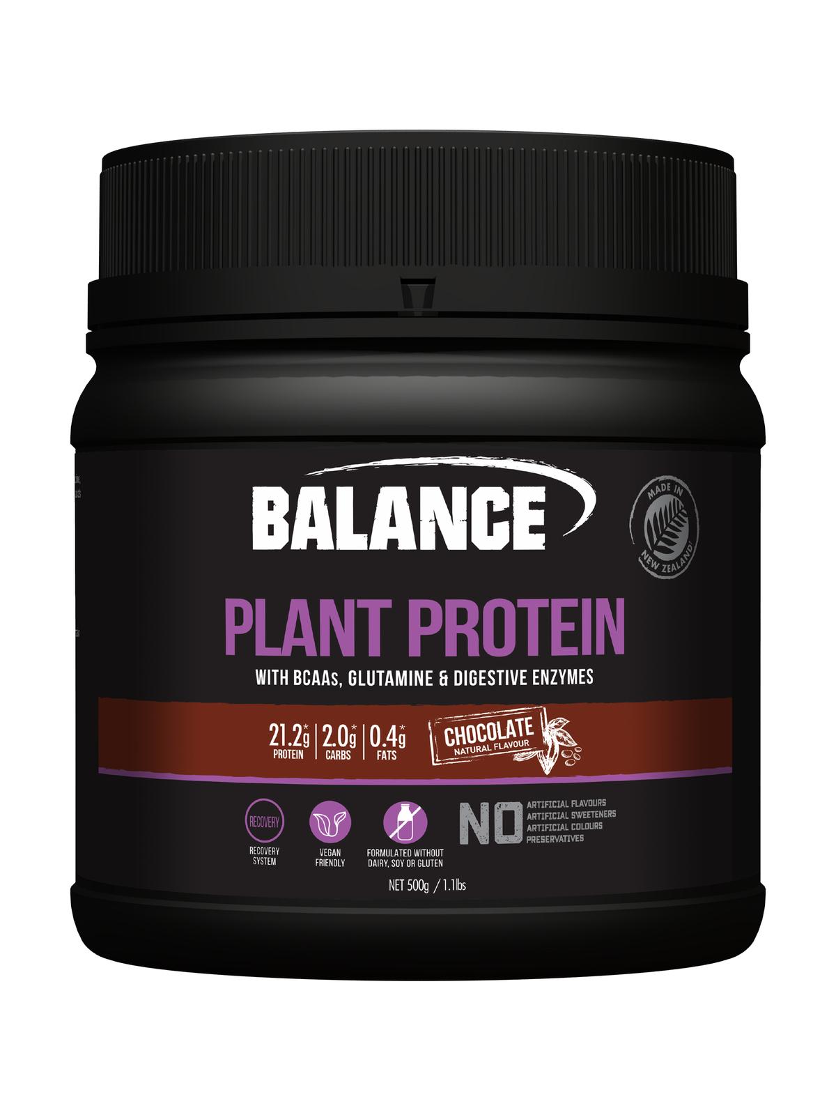 Balance Plant Protein - Chocolate (500g) image