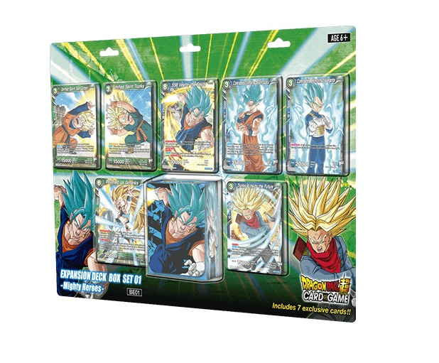 Dragon Ball Super TCG: Mighty Heroes Expansion Deck Box Set image