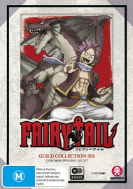 Fairy Tail Guild Collection 6 (Eps 227-277) on DVD