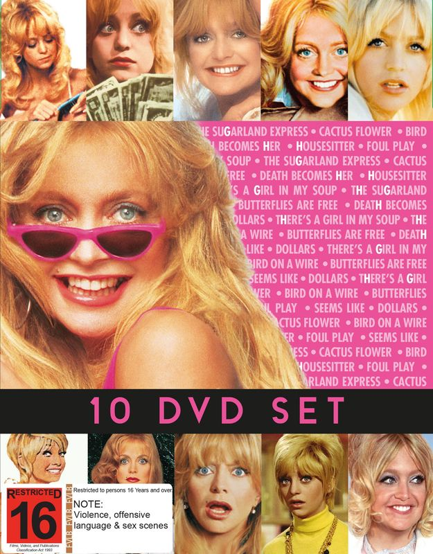 Goldie Hawn Collection on DVD