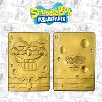 SpongeBob: Metal Ingot (24K Gold Plated) - Limited Edition