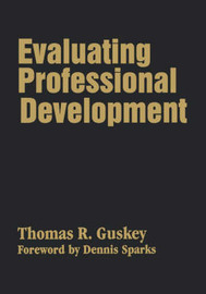 Evaluating Professional Development by Thomas R. Guskey image
