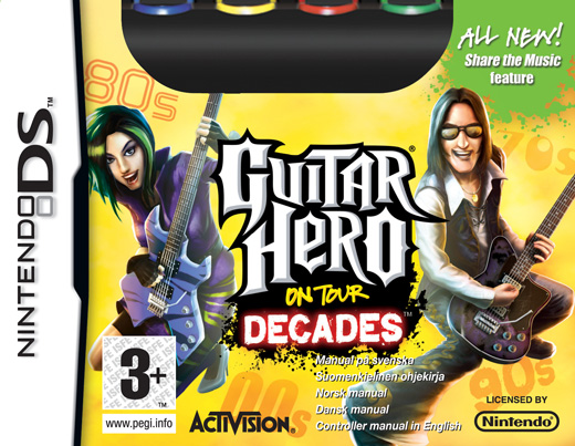Guitar Hero: On Tour Decades (Game only) for Nintendo DS image
