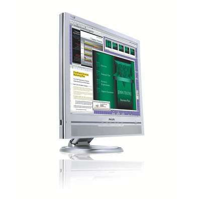"Philips 19"" 190B6CS Silver LCD TFT Flat Panel image"