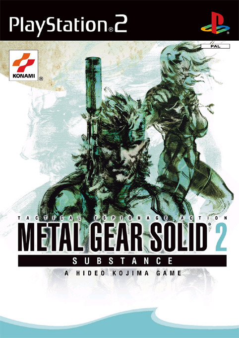 Metal Gear Solid 2: Substance for PS2