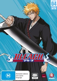 Bleach Collection 04 (Eps 64-79) (Season 4 Part 1) on DVD