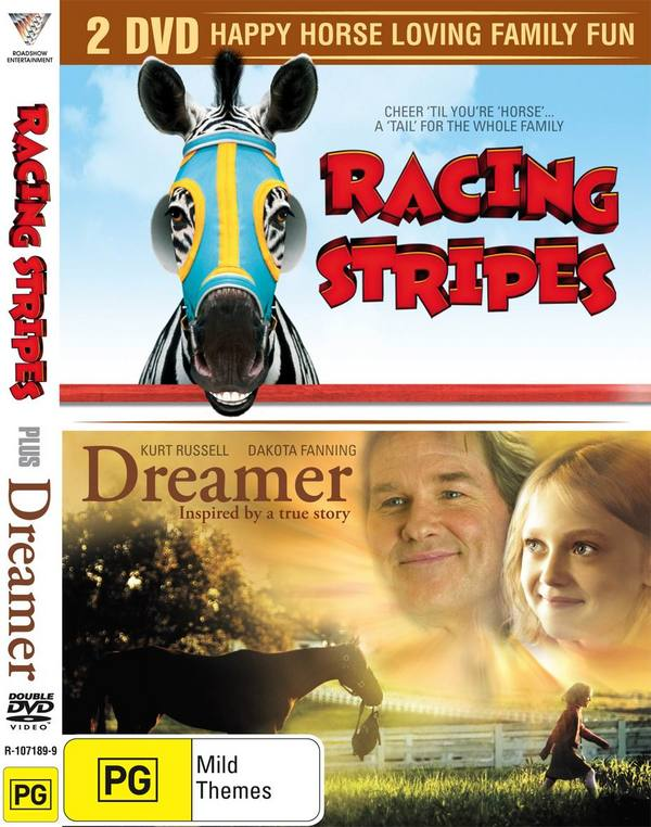 Racing Stripes / Dreamer (2 Disc Set) on DVD image