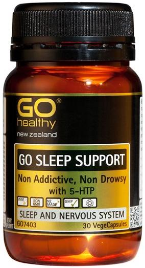 Go Healthy: GO Sleep Support (30 Capsules)