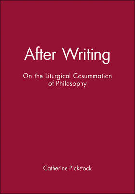 After Writing by Catherine Pickstock image