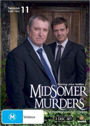 Midsomer Murders - Season 11: Part 2 (3 Disc Set) on DVD image