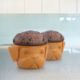 Pup Cup Cake Moulds (2 Pack)