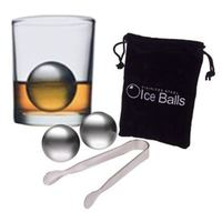 Stainless Steel Ice Balls (Set of 2)