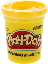 Play Doh Single Tub - Yellow
