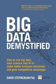 Big Data Demystified by David Stephenson