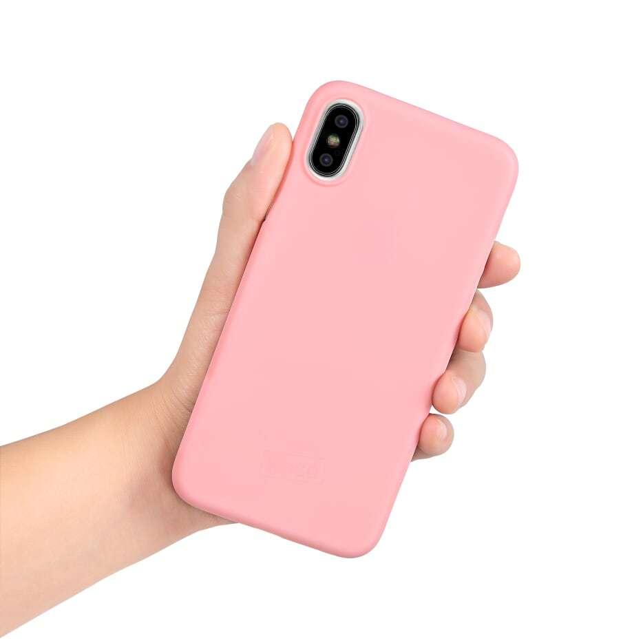 Kase Go Original iPhone X Slim Case- Pretty in Pink image