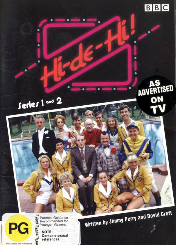 Hi-de-hi! Series 1 And 2 (3 Disc) on DVD image