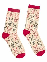 Out of Print: Alice In Wonderland - Women's Crew Socks