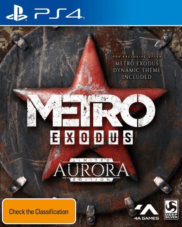 Metro Exodus Aurora Edition for PS4