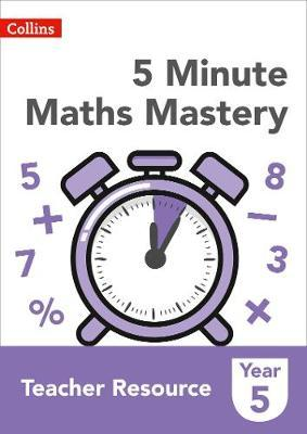 5 Minute Maths Mastery Book 5 by Collins image