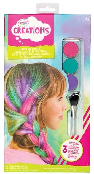 Crayola Creations - Rainbow Hair Colour Set
