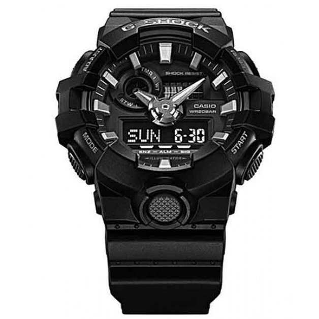 Casio G-Shock Black Analogue/Digital Mens Watch GA700-1B GA-700-1B