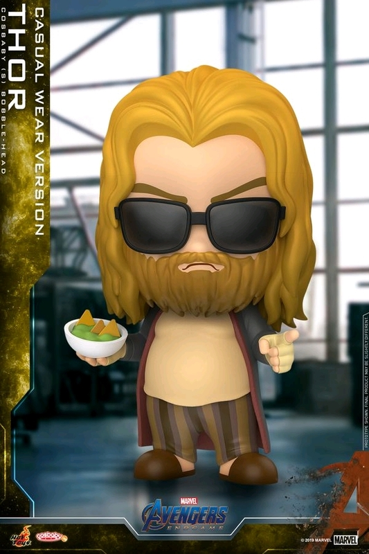 Avengers: Endgame - Thor (Casual) Cosbaby Figure