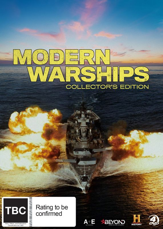 Modern Warships Collector's Edition on DVD