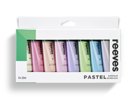 Reeves: Acrylic - Pastel (22ml / Set of 8)