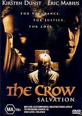 The Crow Salvation on DVD