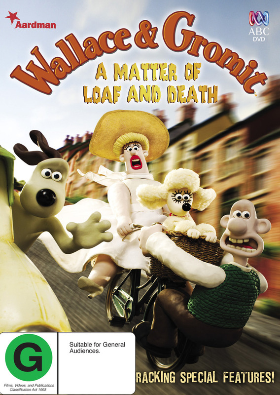 Wallace & Gromit - A Matter of Loaf and Death on DVD