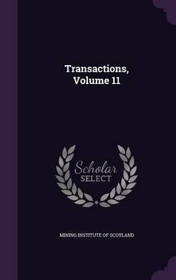Transactions, Volume 11