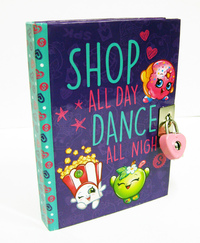 Shopkins: Lockable Diary