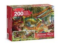 Melissa & Doug: World Floor Puzzle - Dinosaurs