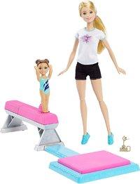 Barbie: Flippin Fun - Gymnastics Doll Set