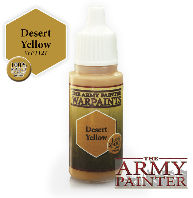Desert Yellow Warpaint