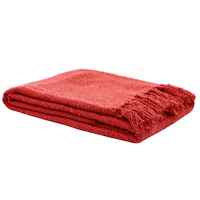 Bambury Boucle Throw Rug (Coral) image