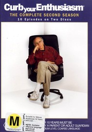 Curb Your Enthusiasm - Complete Season 2 (2 Disc Set) on DVD image