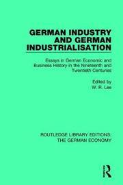 German Industry and German Industrialisation