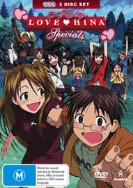 Love Hina Specials Collection (3 Disc Slimpack) on DVD