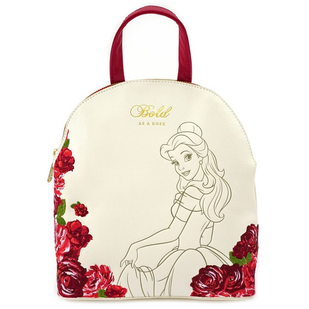 Loungefly: Beauty and the Beast - Bold as a Rose Mini Backpack