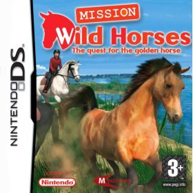 Real Adventures: Wild Horses for DS image