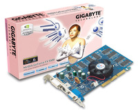 Gigabyte Graphics Card NVIDIA GeForce FX5500 256M AGP image