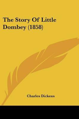 The Story Of Little Dombey (1858) by Charles Dickens image