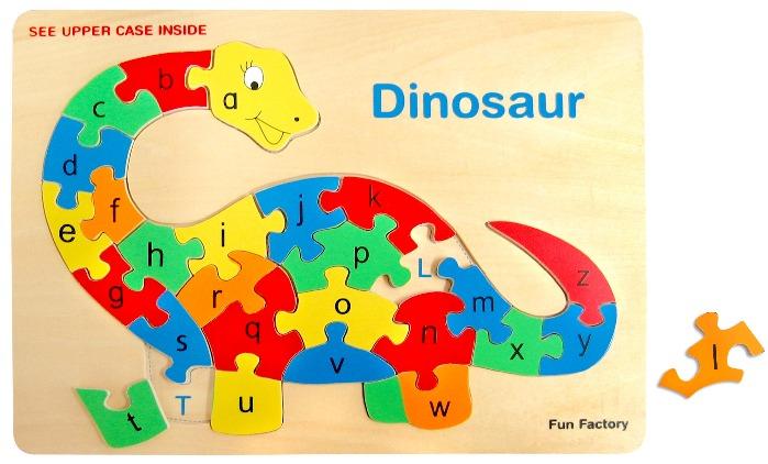 Fun Factory: Dinosaurs Raised Puzzles image