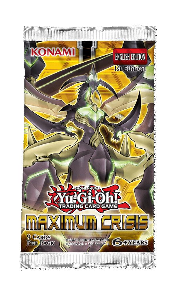 Yu-Gi-Oh! Maximum Crisis Single Booster (9 cards) | at