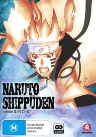 Naruto Shippuden - Collection 30 (eps 375-387) on DVD