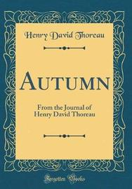 Autumn by Henry David Thoreau image