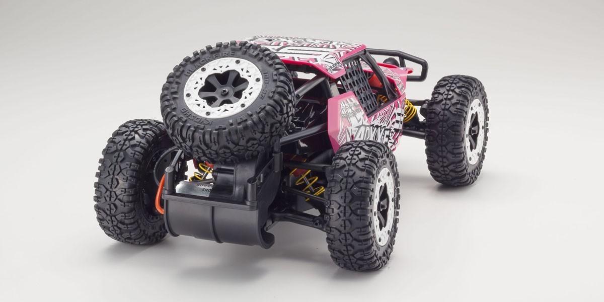 Kyosho 1/10 Axxe Readyset Electric Powered Type 6 - (Pink) image